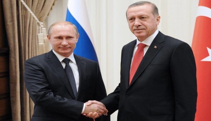 Путин и Эрдоган проводят встречу в Сочи