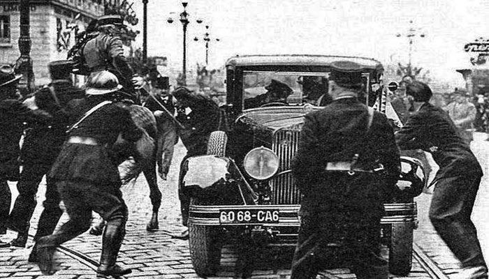 О драматических событиях 1934 года в Марселе
