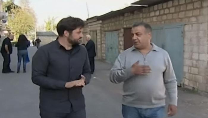 İsrail telekanalı Tərtərdən reportaj hazırladı