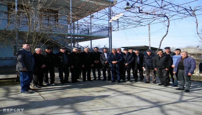 Gürcüstanda 20 Yanvar şəhidlərinin yaxınlarına yardım edilib
