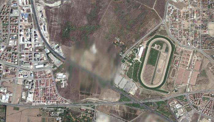Ankara'ya yukarıdan bakınca görülen şekil şaşkınlık yarattı