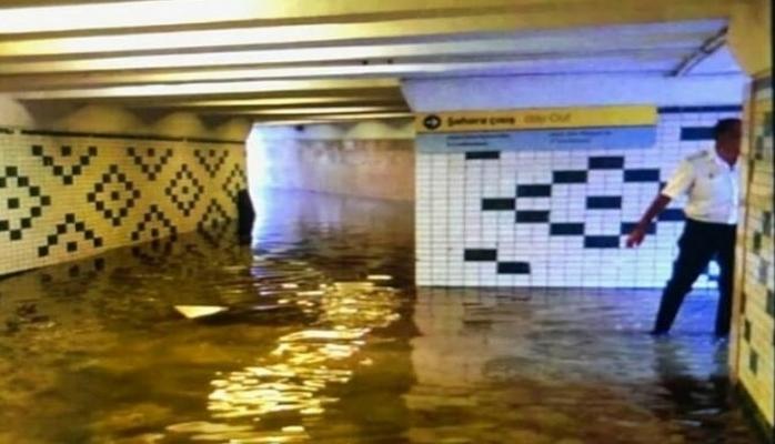 Yağışın metroya vurduğu ziyan açıqlanıb