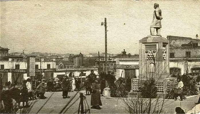 Виды Баку на открытках 1920-х годов