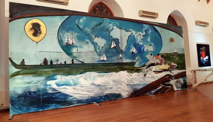 В Капельхаусе открылась выставка, посвященная беженцам и мигрантам