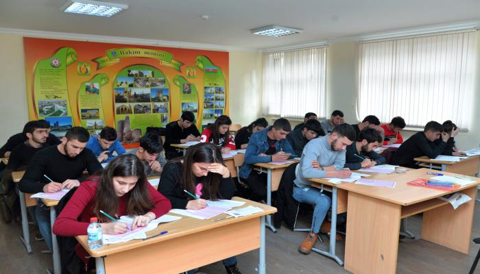 В Азербайджане пройдет пробный экзамен в магистратуру