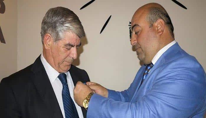 """Ramiz Cəfərova """"Azərbaycanın Qüruru"""" Ordeni təqdim edildi"""