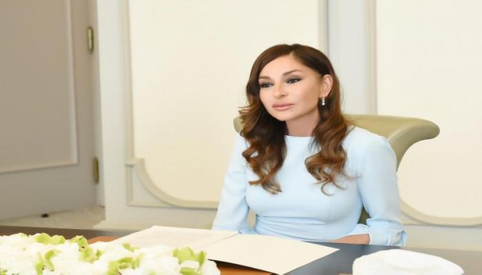 Мехрибан Алиева поблагодарила участников акции по сдаче крови