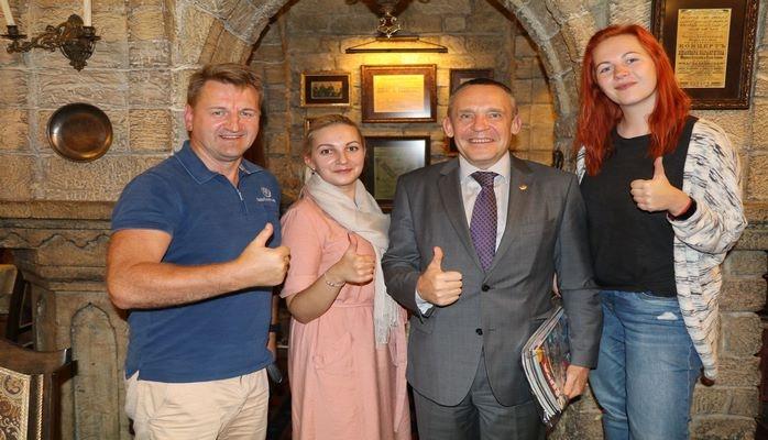 Гости из Латвии покорены красотой столицы Азербайджана