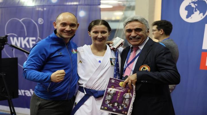 Azərbaycan karateçiləri Parisdən iki medalla qayıdır