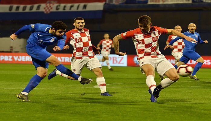 Азербайджан проиграл Хорватии