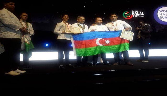 Azərbaycan beynəlxalq kulinariya müsabiqəsində qalib gəldi