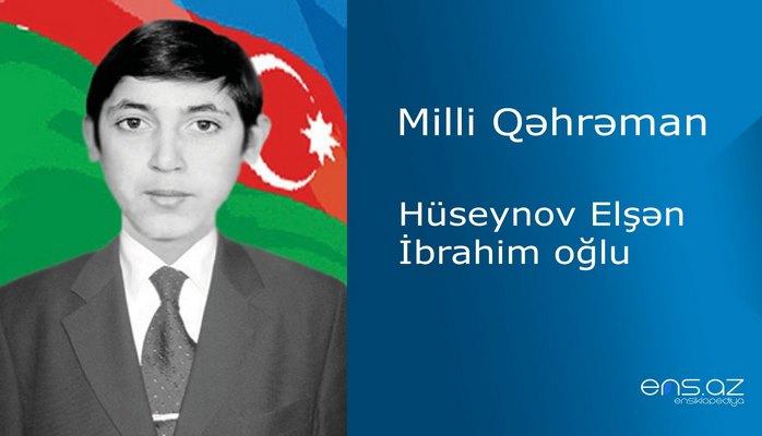 Elşən Hüseynov İbrahim oğlu