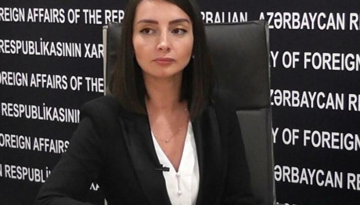"""XİN rəsmisi: """"Ermənistana bunu etməyə icazə verilməyəcək"""""""