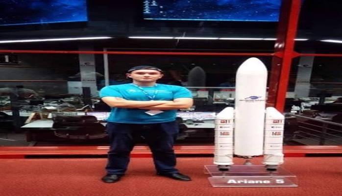 Студент БВШН присутствовал при запуске нового азербайджанского спутника на орбиту