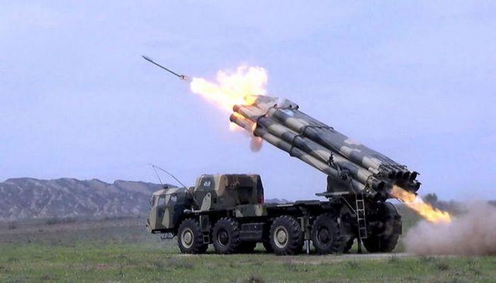Ракетные подразделения провели боевые стрельбы