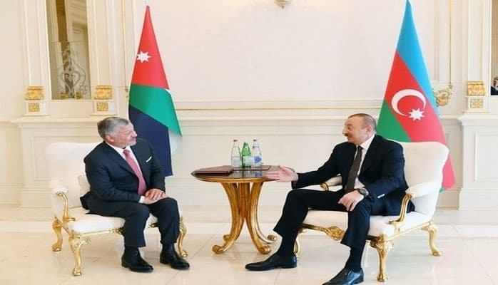 Состоялась встреча один на один Ильхама Алиева и короля Иордании