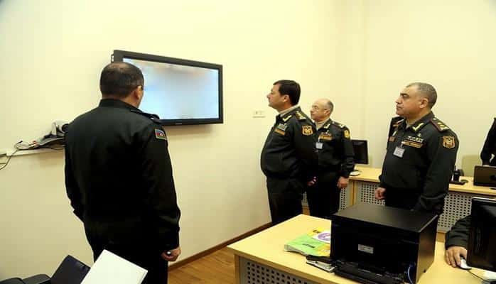 Начальник Генштаба наблюдал за действиями пунктов управления военных игр