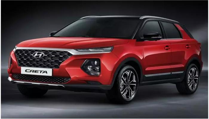Новая Hyundai Creta рассекречена на официальных фотографиях