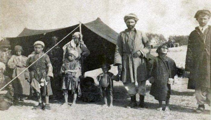 Представители курдских племен в Эривани в 1898 г. (ФОТО)