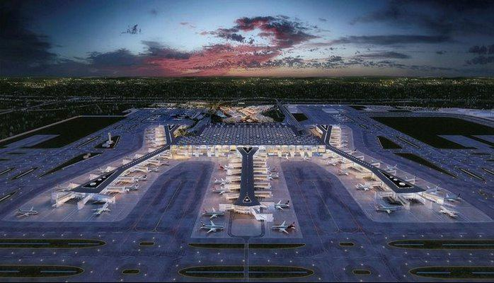 İstanbul Havalimanı'na 10 milyon ağaç dikilecek .