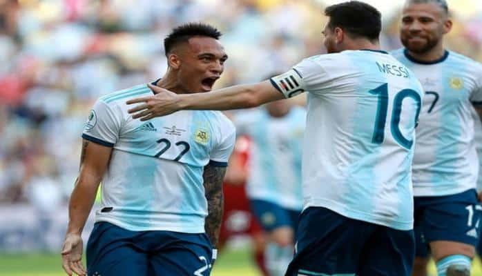 Argentina Amerika Kubokunun yarımfinalına çıxdı -
