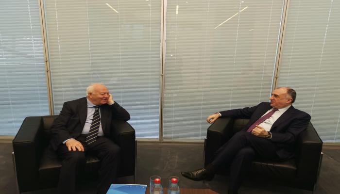 Эльмар Мамедъяров встретился с верховным представителем Альянса цивилизаций ООН (ФОТО)