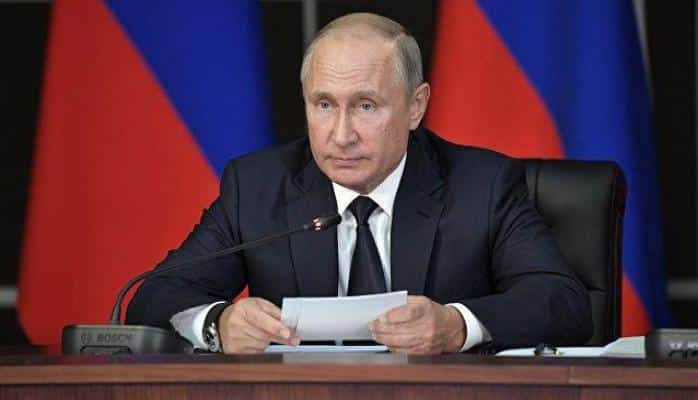 Putin canlı yayımda Zelenskini tənqid etdi