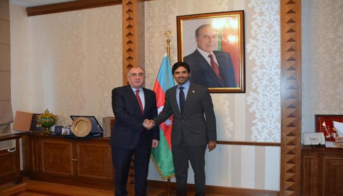 Эльмар Мамедъяров встретился с новым послом Катара