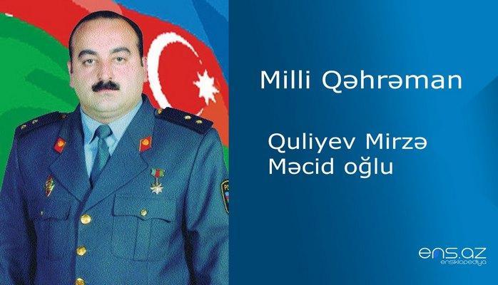Mirzə Quliyev Məcid oğlu