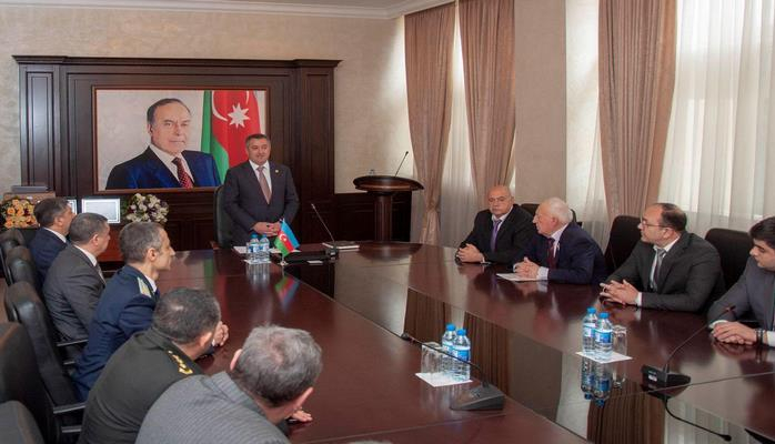 В Наримановском районе Баку прошло мероприятие, посвященное 100-летию органов безопасности Азербайджана