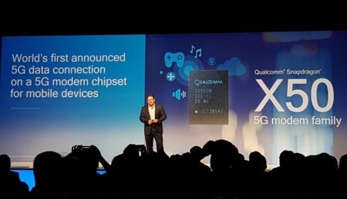 Smartfonlar üçün ilk 5G-modem nümayiş olunub