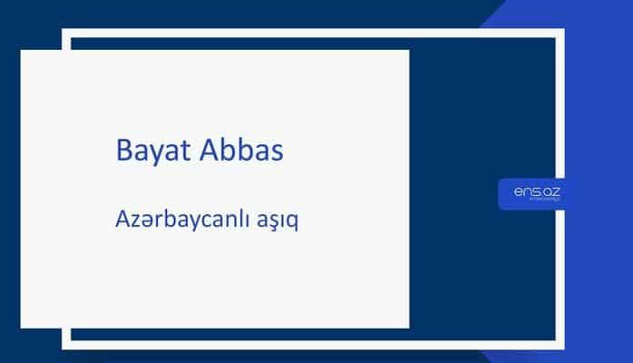 Bayat Abbas