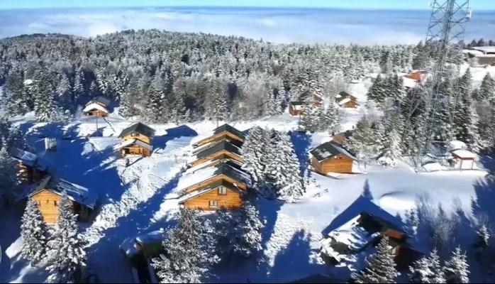 Uludağ'da otellerin alternatifi 'Orman Köşkleri'