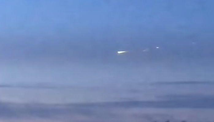 Rusiya səmasında meteorit peyda oldu