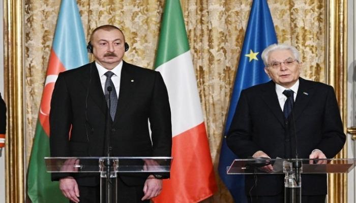 İtaliya Prezidenti: 'Azərbaycan beynəlxalq məsələlərdə bütün ölkələrlə dialoqa hazırdır'