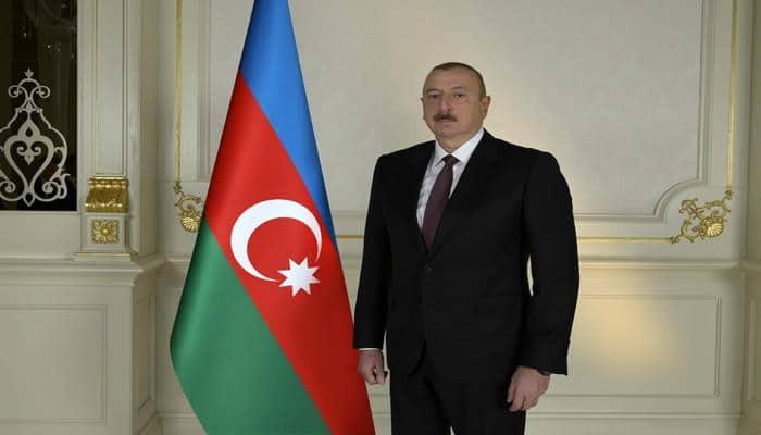 Президент Ильхам Алиев принял участие в открытии после реконструкции автомобильной дороги Пирили-Мурадхан-Сор-Сор