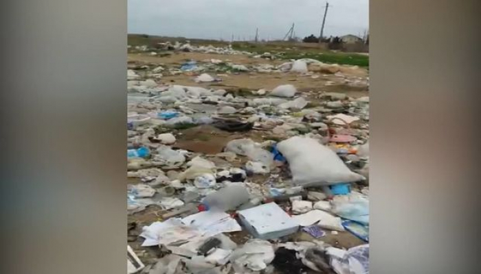 Дорога мусора в Зиря