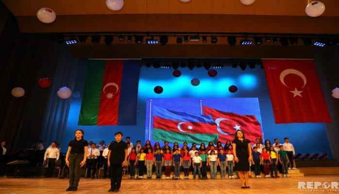 Bakıda Türkiyənin Milli Suverenlik və Uşaq Bayramı ilə əlaqədar tədbir keçirilib