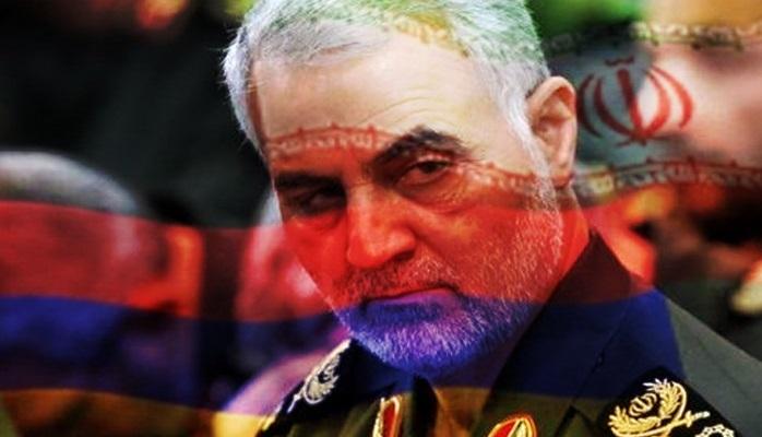 """İran televiziyasında açıq etiraf: """"Qasım Süleymani Qarabağın Ermənistan tərəfindən işğal edilməsinə dəstək göstərdi"""""""