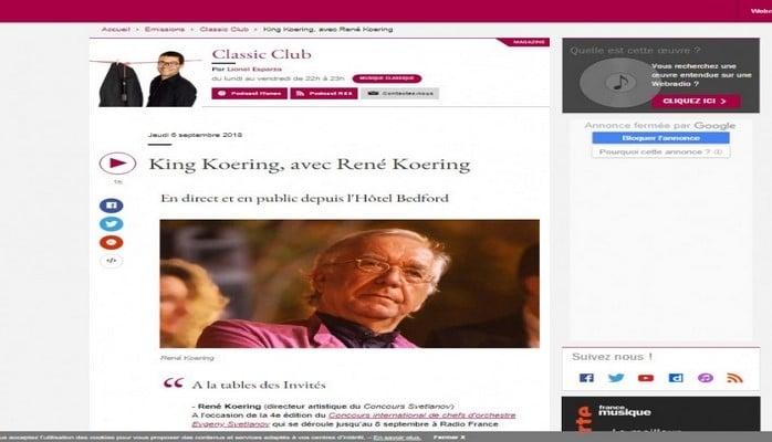 На французском радио и телевидении прозвучали произведения Кара Караева