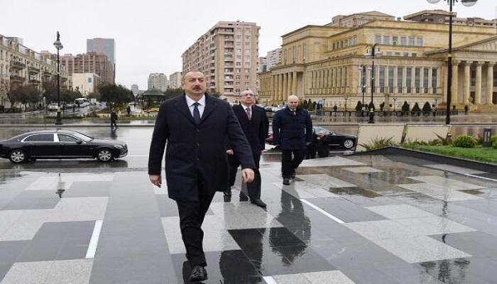 Ильхам Алиев обратился к азербайджанскому народу