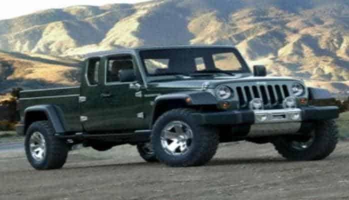 Стало известно название нового пикапа известного автомобильного бренда Jeep