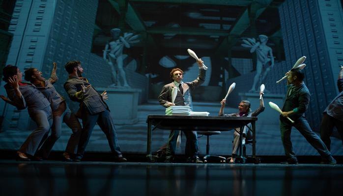 В Баку появился город-цирк! Потрясающее шоу Cirque Eloize из Канады