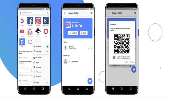 Opera, Android Tarayıcısına Dijital Cüzdan Ekledi