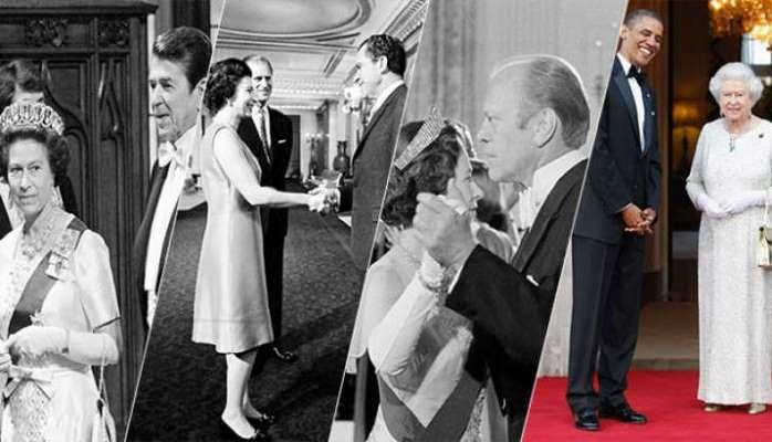 Bu Kraliça 12 ABŞ prezidentini görüb, 11-i ilə tanış olub