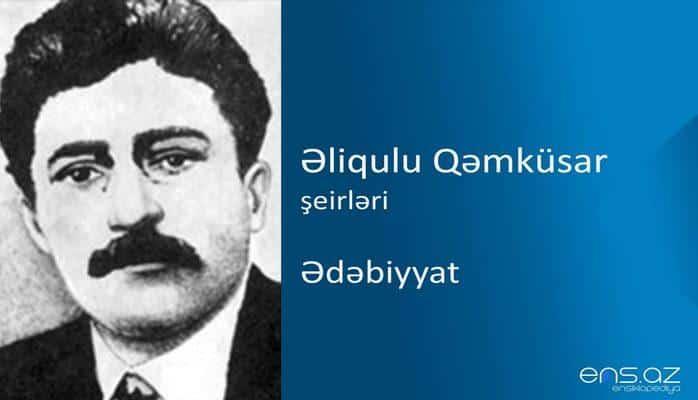 Əliqulu Qəmküsar - Ədəbiyyat