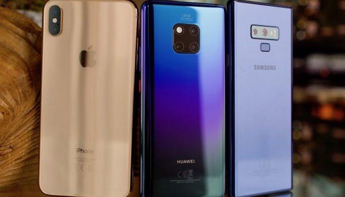 Huawei, Samsung ve Apple satışları ilk çeyrek karnesi