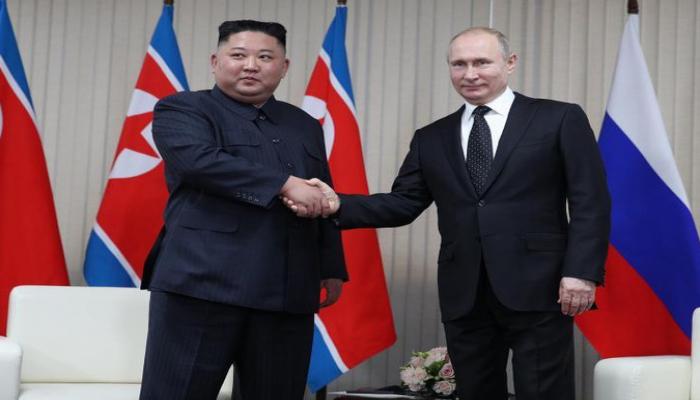 Kim Çen In Putini təbrik etdi