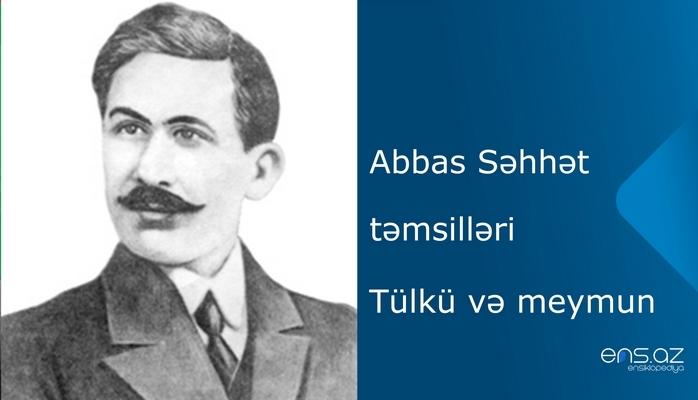 Abbas Səhhət - Tülkü və meymun