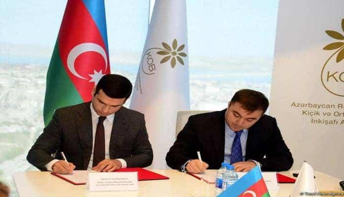 Агентство малого и среднего бизнеса Азербайджана и АМОР подписали меморандум о сотрудничестве